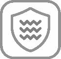 MACART ΓΡΑΝΙΤΕΝΙΟΣ ΝΕΡΟΧΥΤΗΣ ΕΝΘΕΤΟΣ STATUS D-100 L COLORADO (ΕΚΡΟΥ) 100x50cm 5