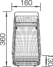 BLANCO ΓΡΑΝΙΤΕΝΙΟΣ ΝΕΡΟΧΥΤΗΣ ΥΠΟΚΑΘΗΜΕΝΟΣ SUBLINE 700-U LEVEL SILGRANIT PURADUR ANTHRACITE (73x46) 8